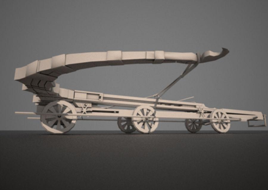 Mega-Armbrust royalty-free 3d model - Preview no. 10