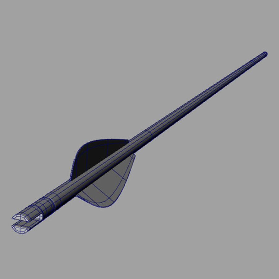 Olympic Recurve Bow royalty-free 3d model - Preview no. 8