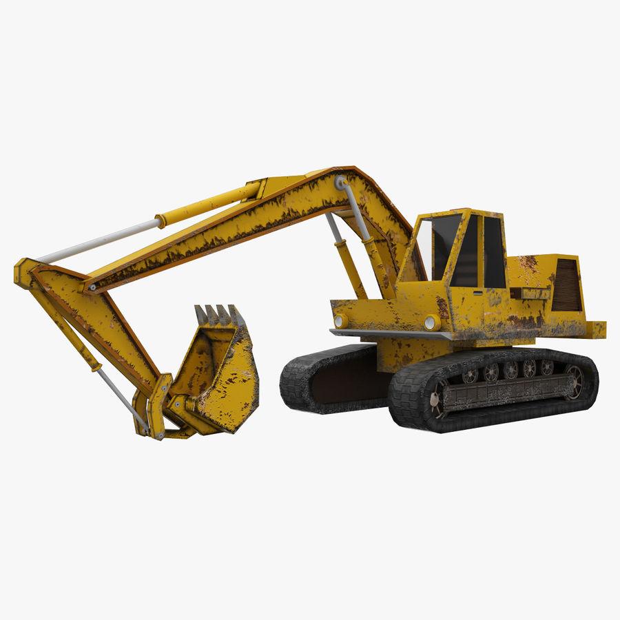 Crawler Excavator Atek-761 royalty-free 3d model - Preview no. 1