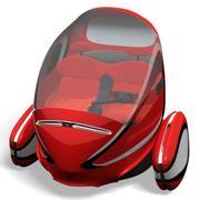 Pojazd elektryczny dla dwóch osób (1) 3d model