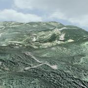 Landschap 3d model