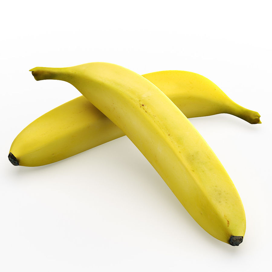 Banan royalty-free 3d model - Preview no. 5
