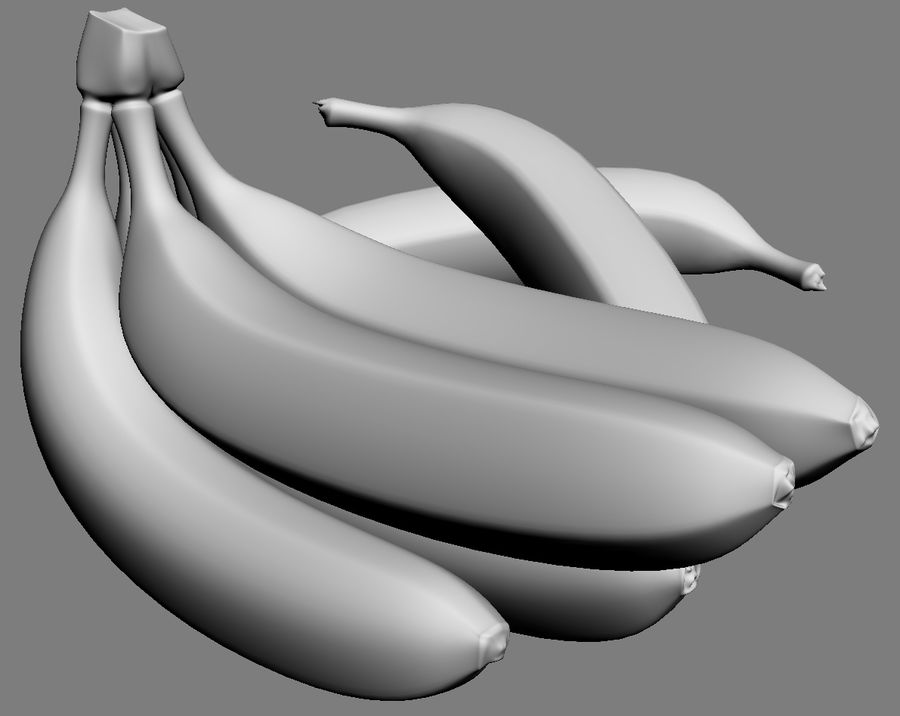 Banan royalty-free 3d model - Preview no. 6