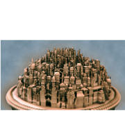 magische Stadt 3d model