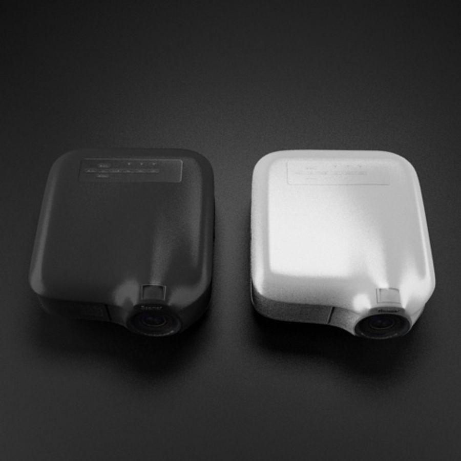 Beamer B & W royalty-free 3d model - Preview no. 3