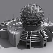 Science World - Vancouver BC 3d model