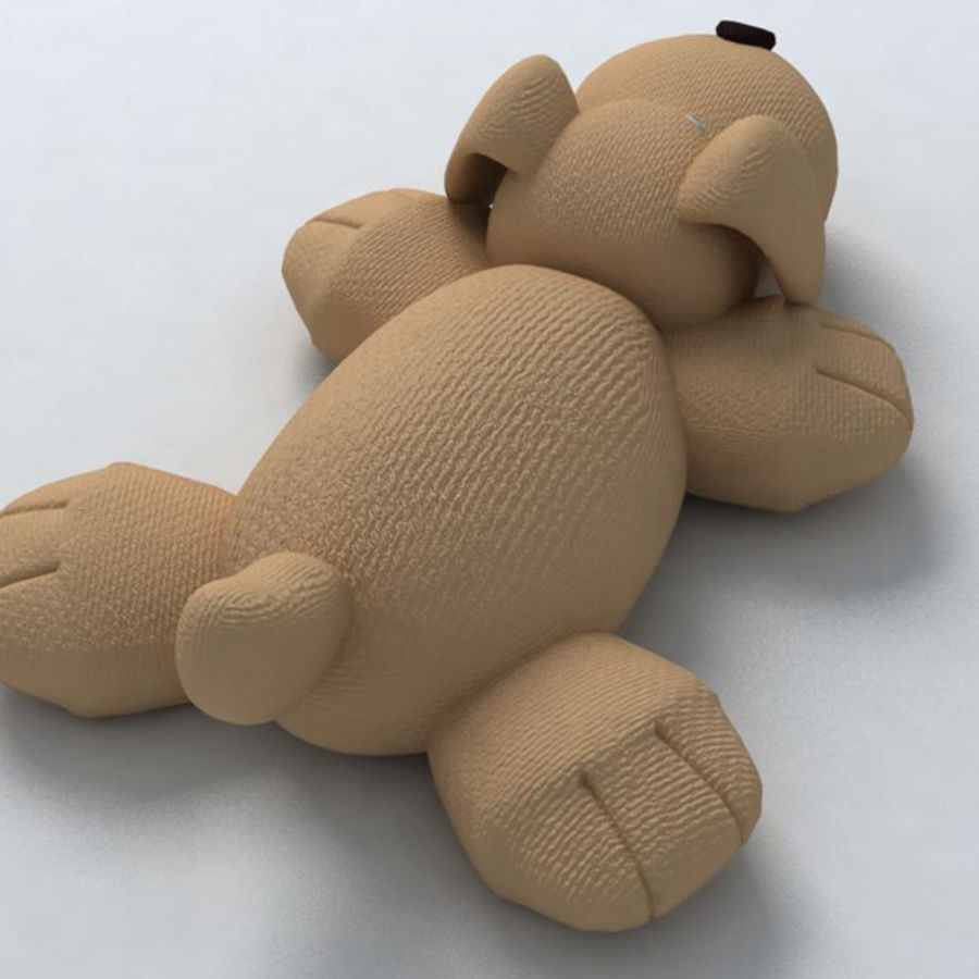 Toy dog royalty-free 3d model - Preview no. 4