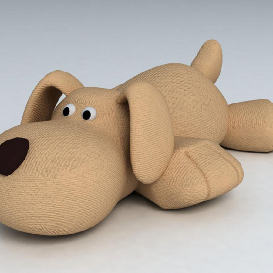 Toy dog royalty-free 3d model - Preview no. 1