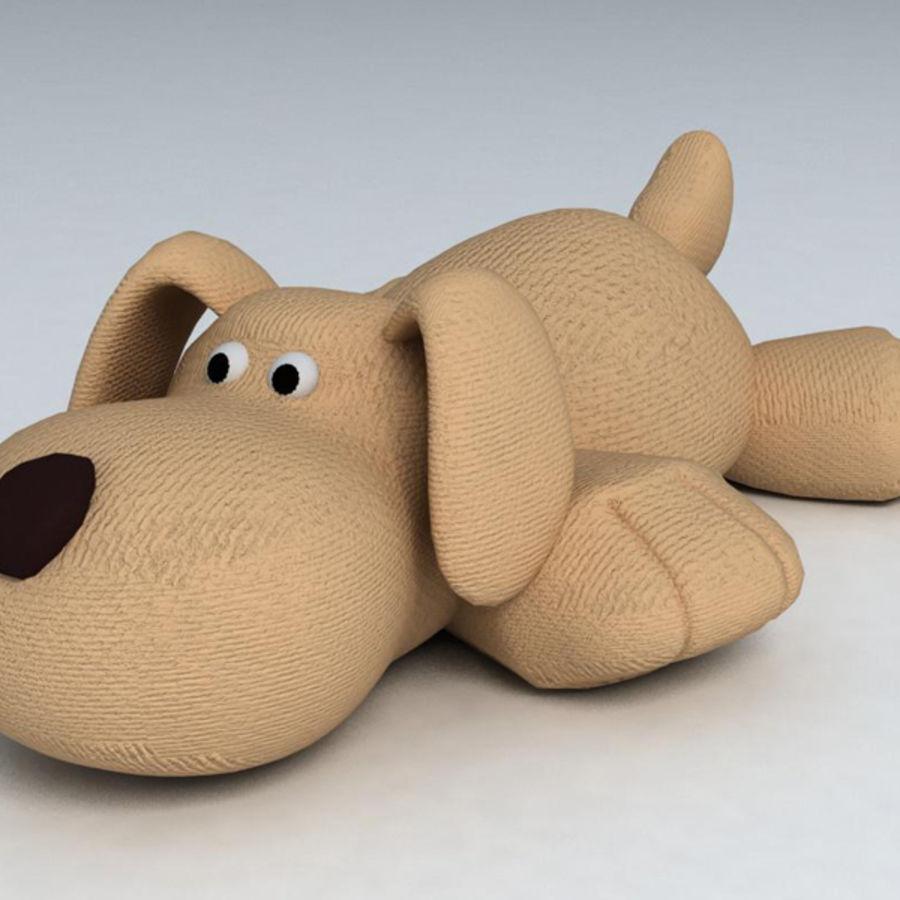 Oyuncak köpek royalty-free 3d model - Preview no. 1