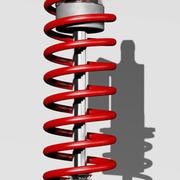 amortisör 3d model