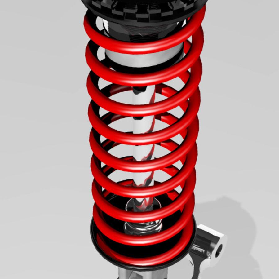 amortiguador royalty-free modelo 3d - Preview no. 3