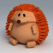 Hedgehog toy 3d model
