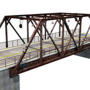 Steel Bridge 3d model