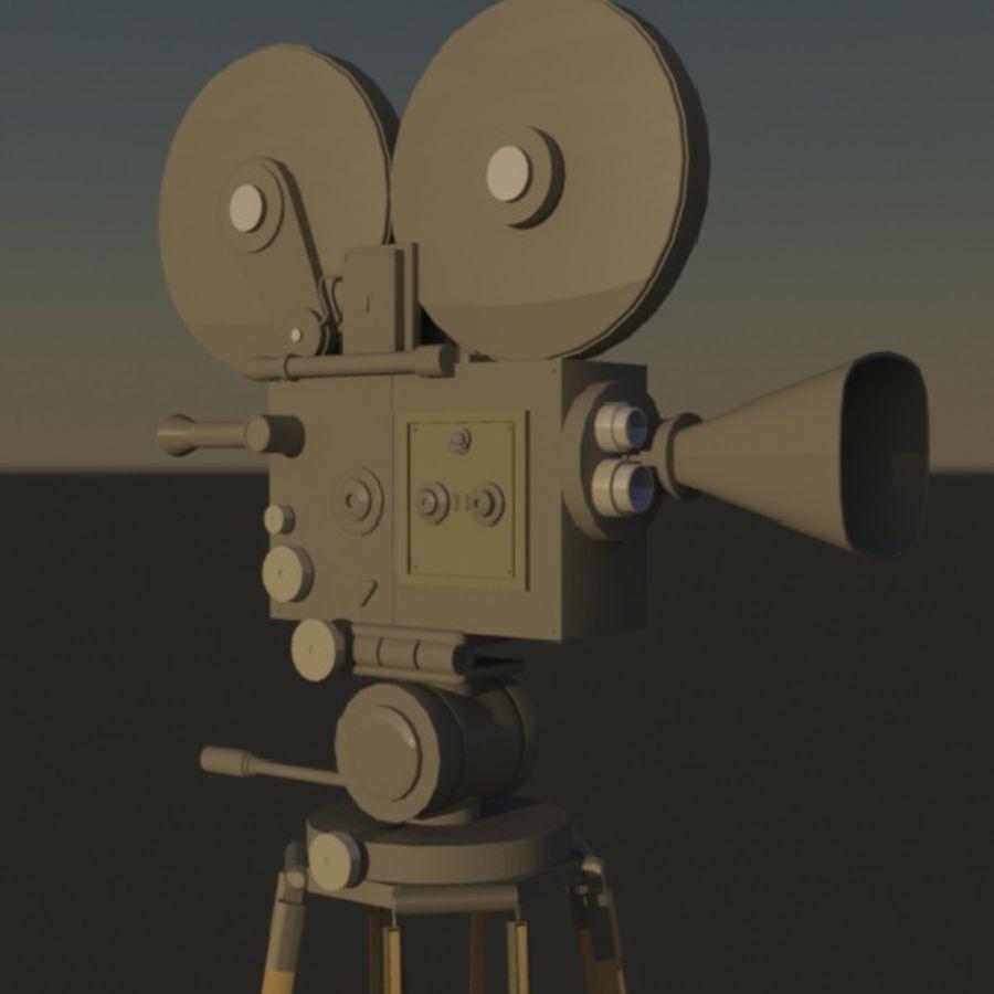 Film Macchina fotografica royalty-free 3d model - Preview no. 2