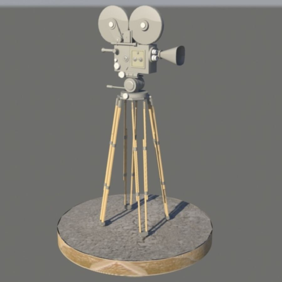 Film Macchina fotografica royalty-free 3d model - Preview no. 1