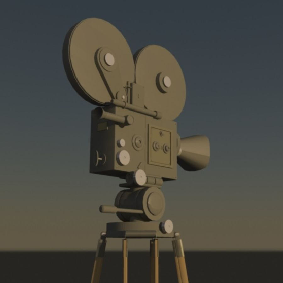 Film Macchina fotografica royalty-free 3d model - Preview no. 3