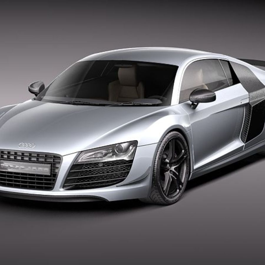 audi r8 gt 2011 3d model 129 obj max lwo fbx 3ds. Black Bedroom Furniture Sets. Home Design Ideas