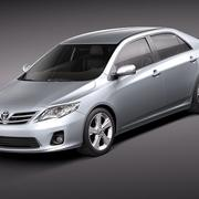 Toyota Corolla 2010 sedan 3d model