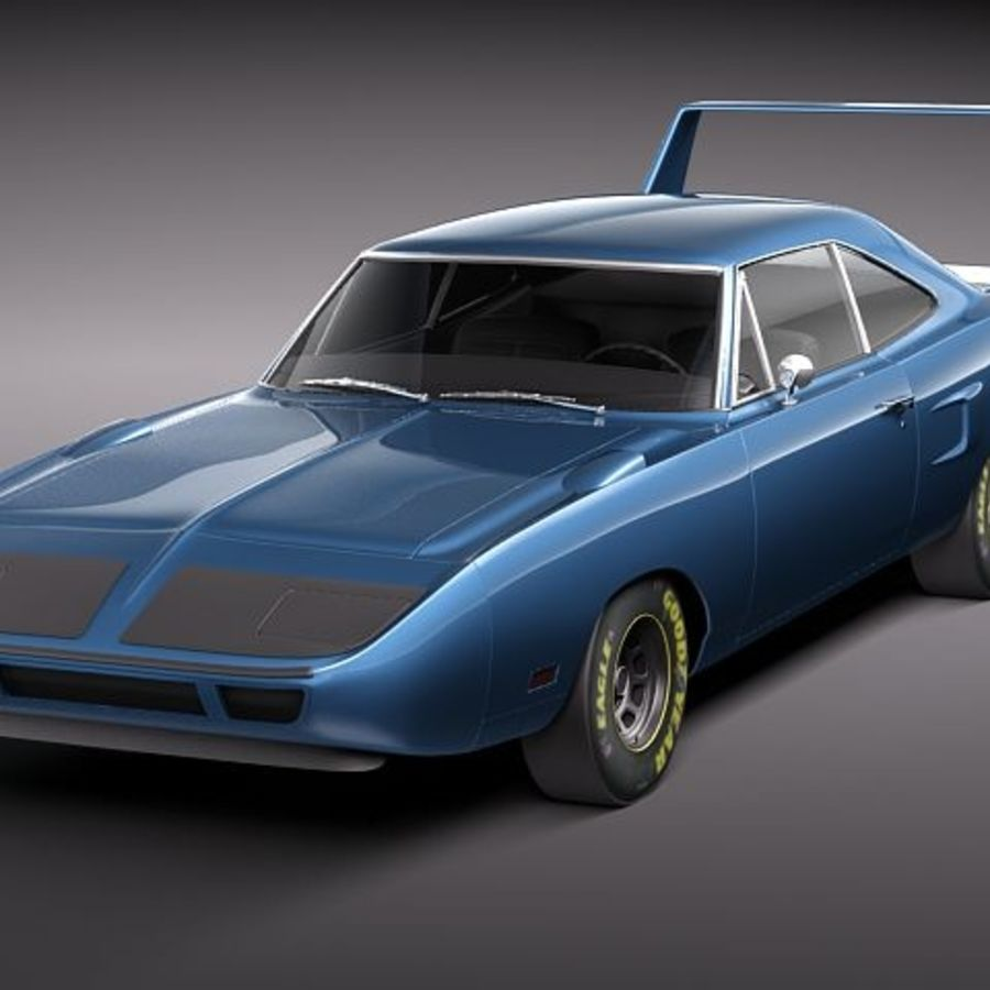 Richard Petty For Sale: Plymouth RoadRunner Superbird 1970 3D Model $129