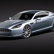 Aston Martin Rapide 2011 3d model