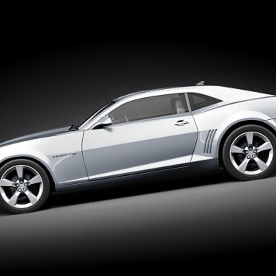 雪佛兰Camaro SS 2010 royalty-free 3d model - Preview no. 7