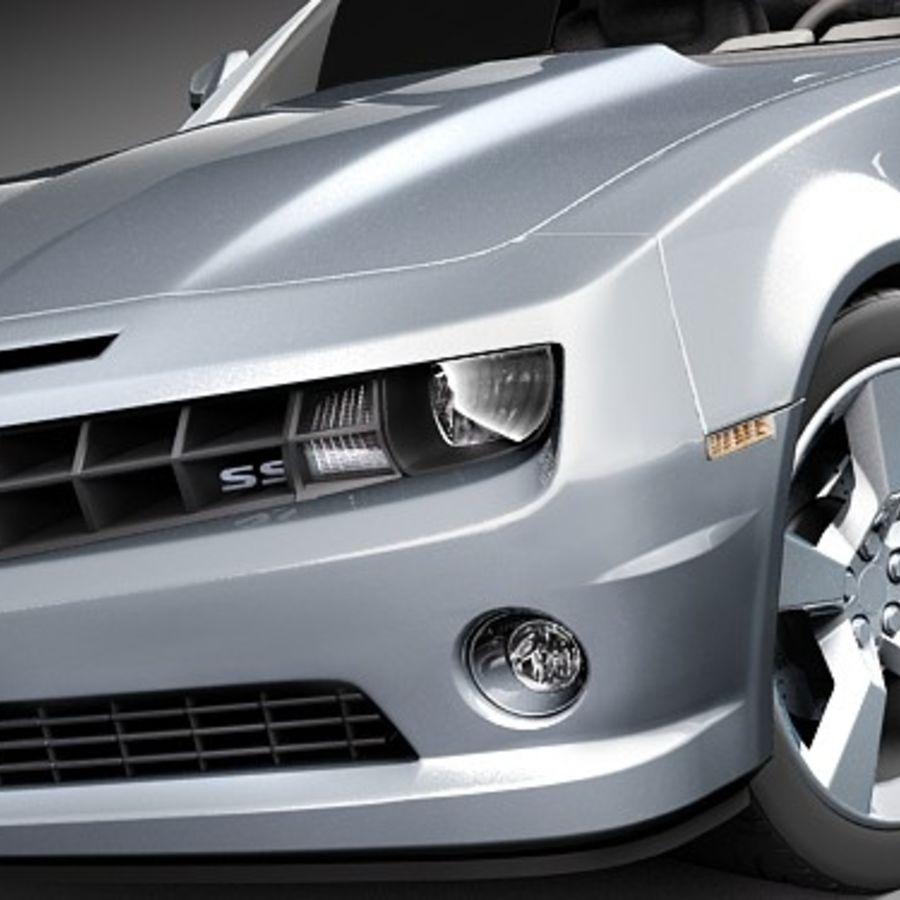 雪佛兰Camaro SS 2010 royalty-free 3d model - Preview no. 3