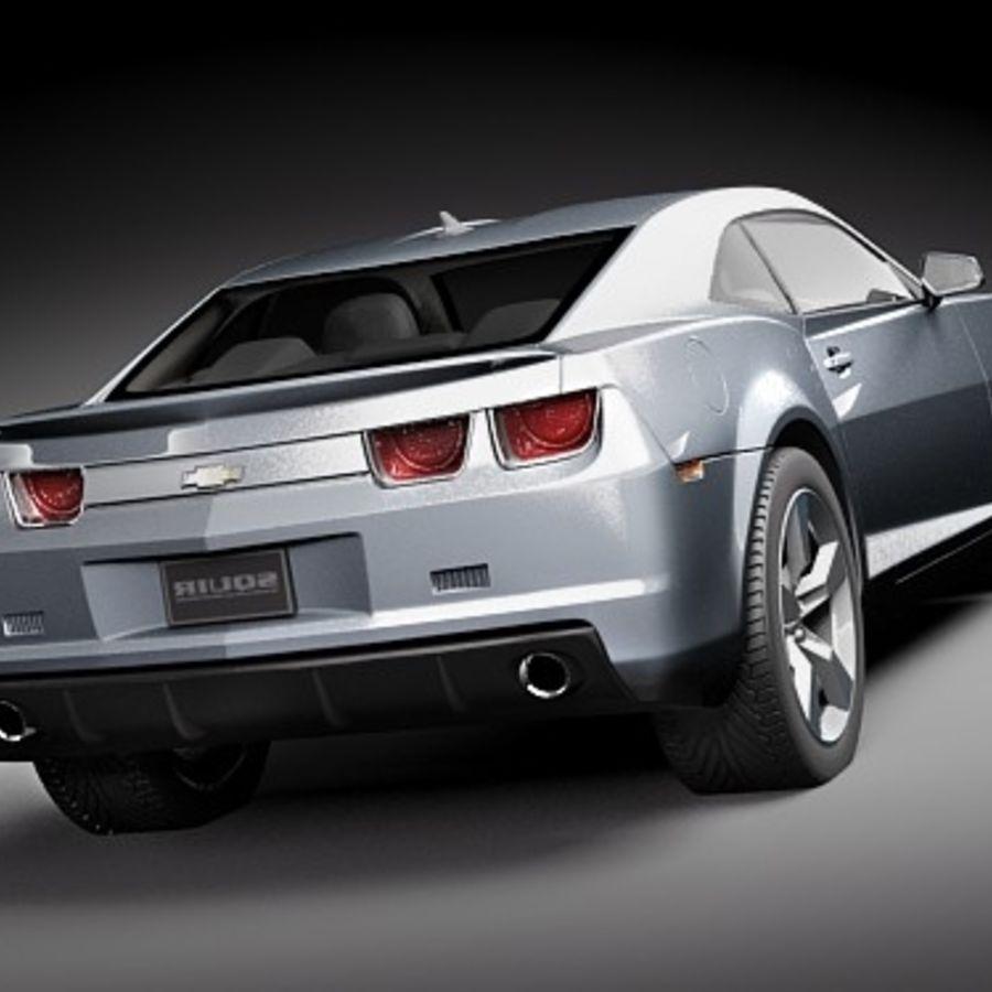 雪佛兰Camaro SS 2010 royalty-free 3d model - Preview no. 6