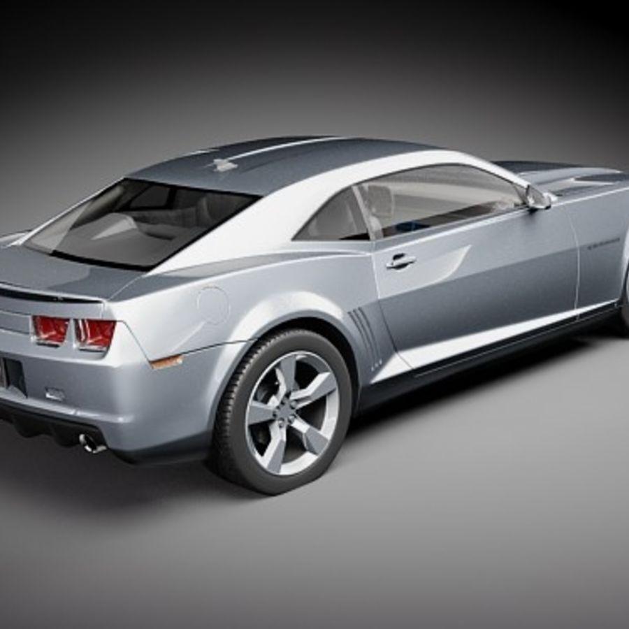 雪佛兰Camaro SS 2010 royalty-free 3d model - Preview no. 5