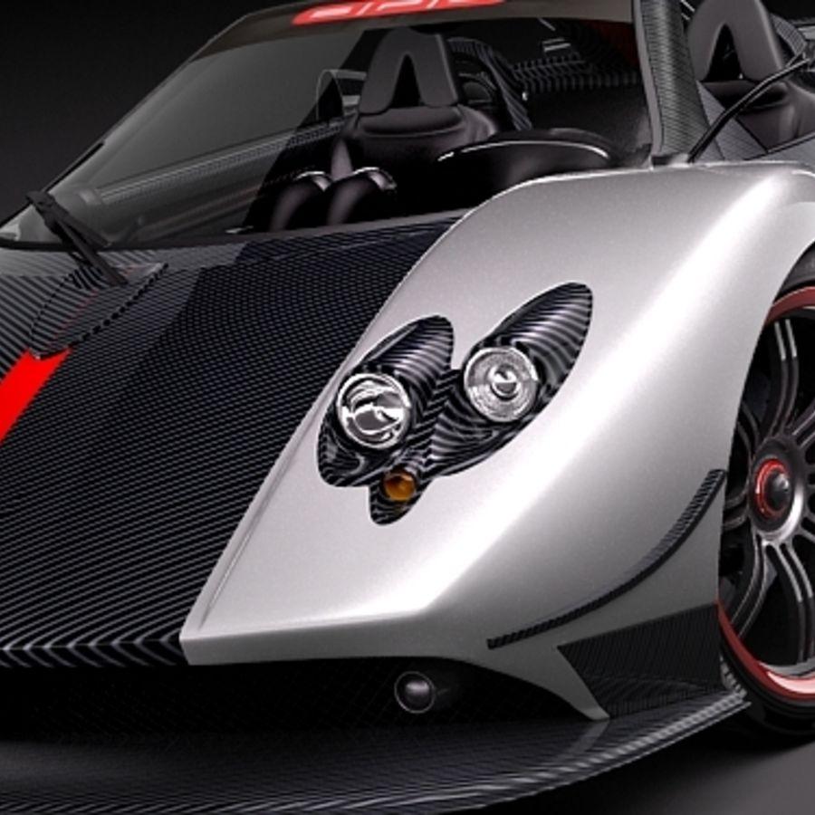 Pagani Zonda Cinque Roadster 2010 3D Model $79