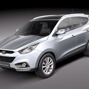 Hyundai ix35 2011 3d model