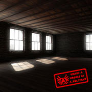 Building 1 OLD - HD Old Abandoned Building - 3ds max 2010 - Mental Ray 3d model