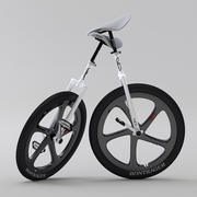 Unicycle sport edition 3d model