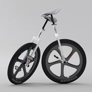一輪車スポーツ版 3d model