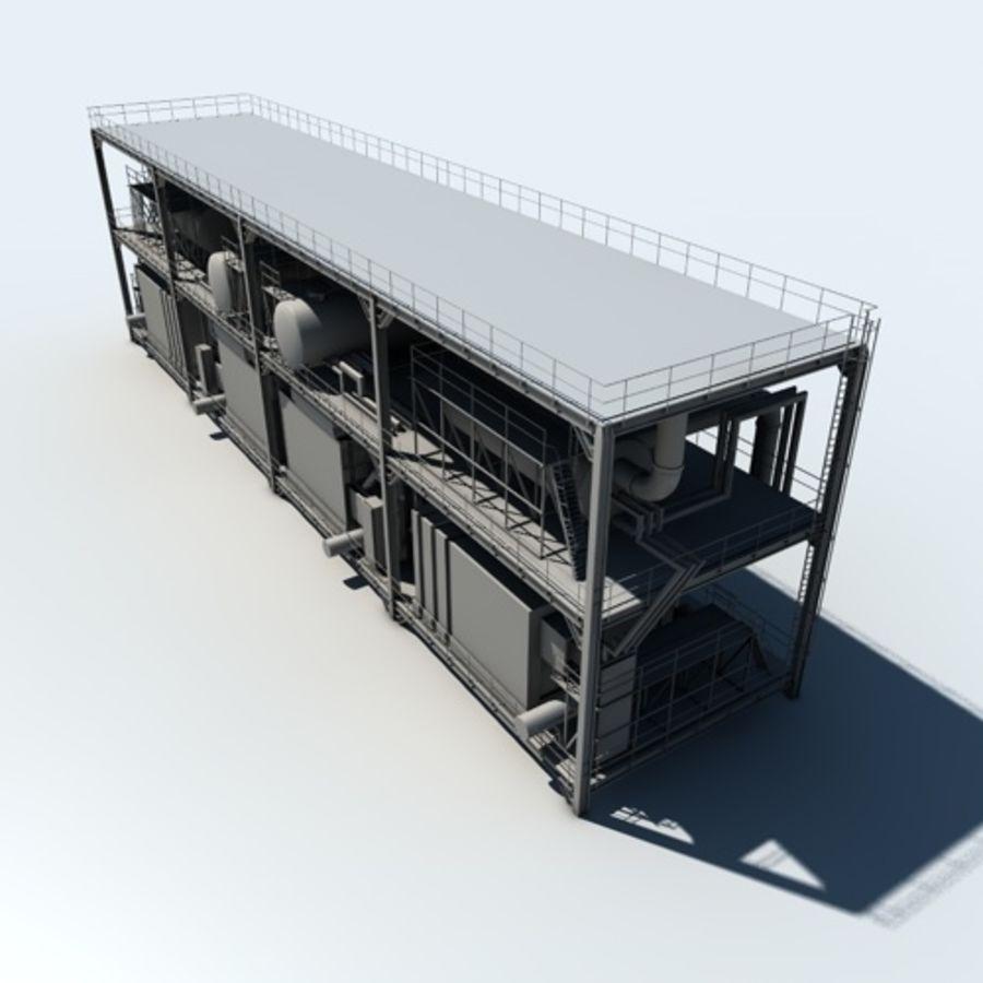 Planta industrial royalty-free 3d model - Preview no. 7
