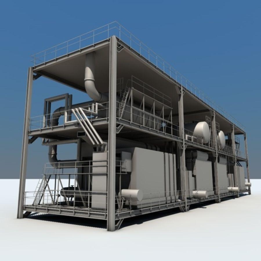 Planta industrial royalty-free 3d model - Preview no. 6