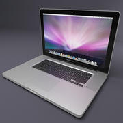 Macbook Pro 17 cali 3d model
