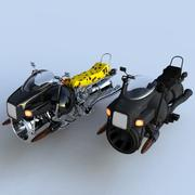 Hover Bikes 3d model