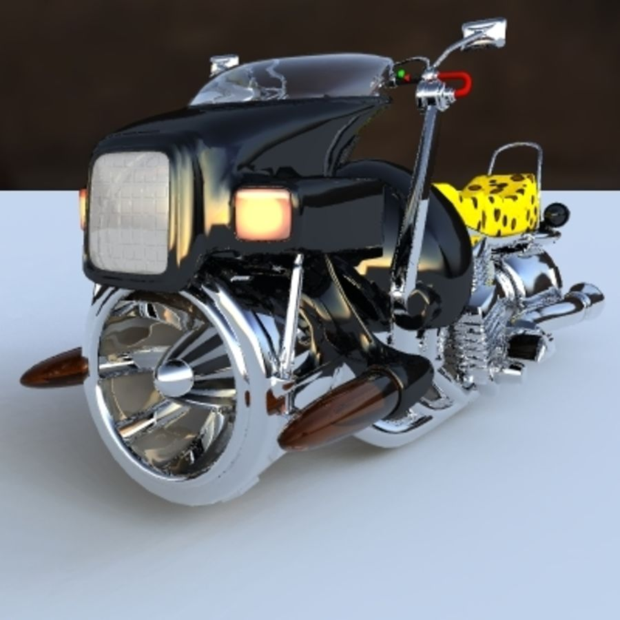 Hover Bikes royalty-free 3d model - Preview no. 6