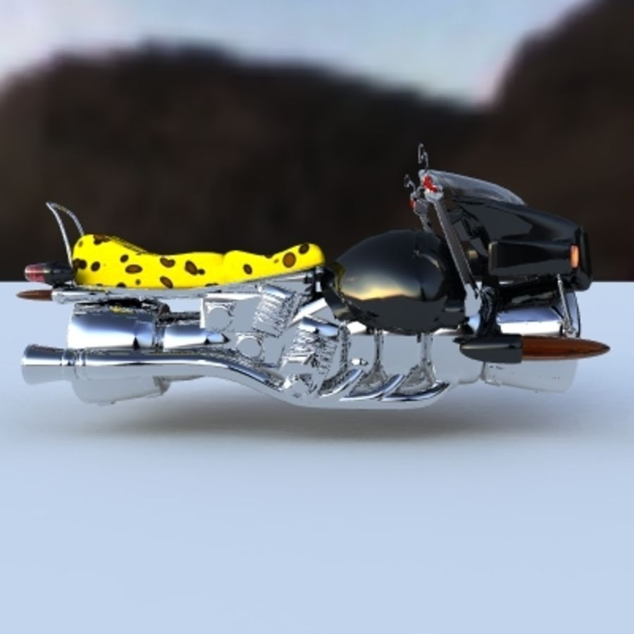 Hover Bikes royalty-free 3d model - Preview no. 8