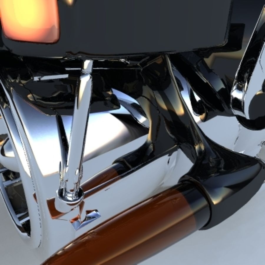 Hover Bikes royalty-free 3d model - Preview no. 12