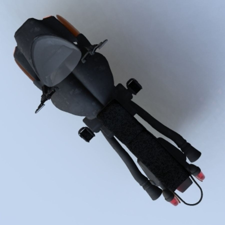 Hover Bikes royalty-free 3d model - Preview no. 21