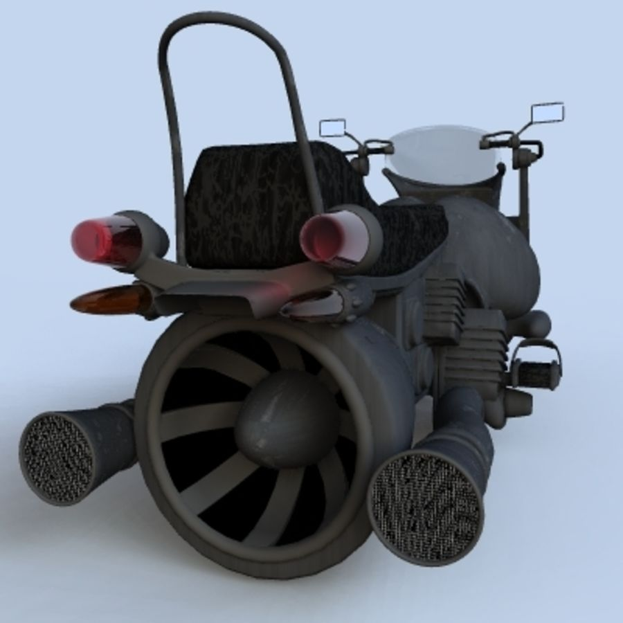 Hover Bikes royalty-free 3d model - Preview no. 16