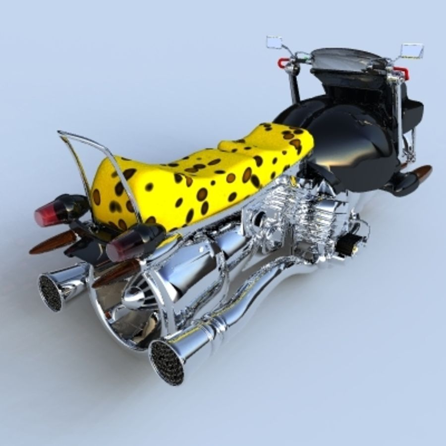 Hover Bikes royalty-free 3d model - Preview no. 5