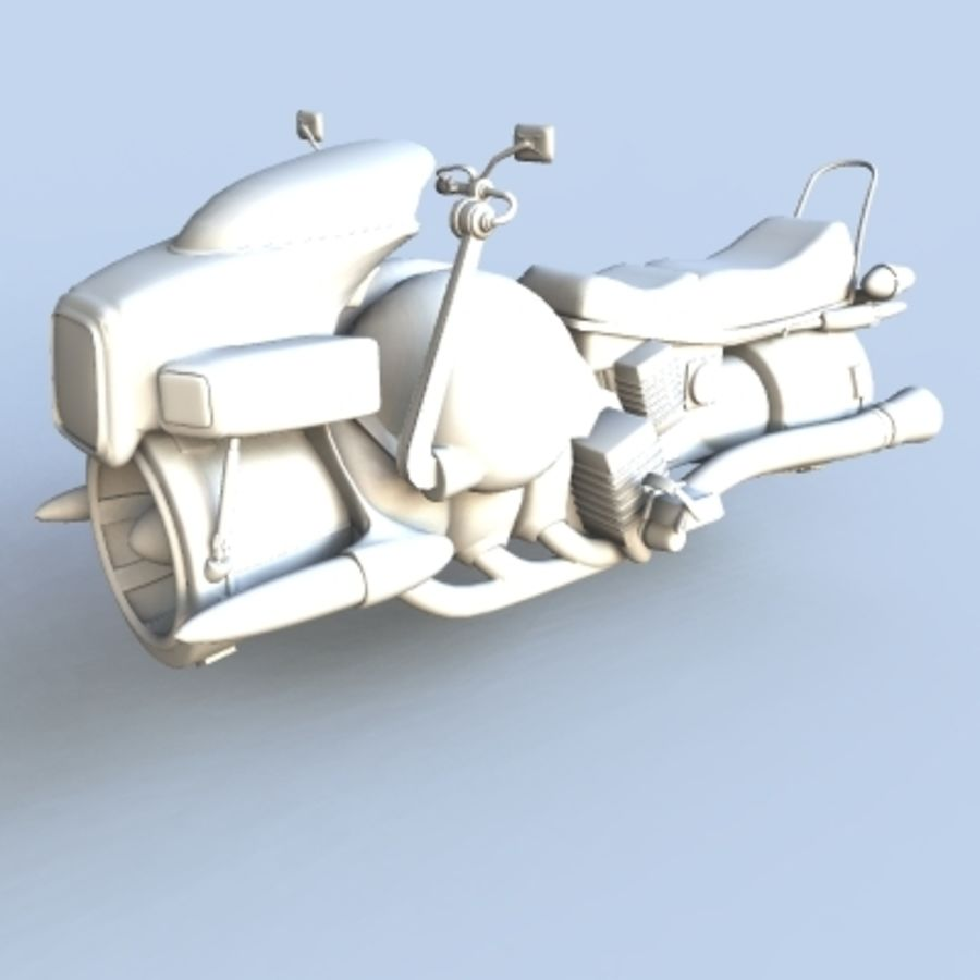 Hover Bikes royalty-free 3d model - Preview no. 13