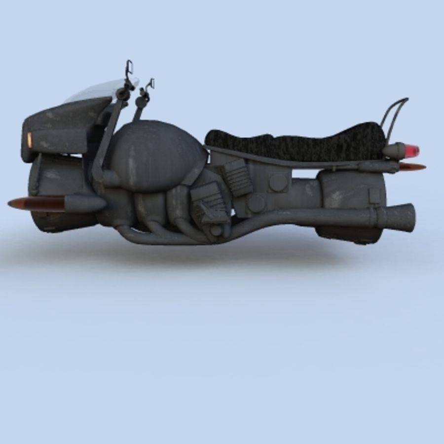 Hover Bikes royalty-free 3d model - Preview no. 20