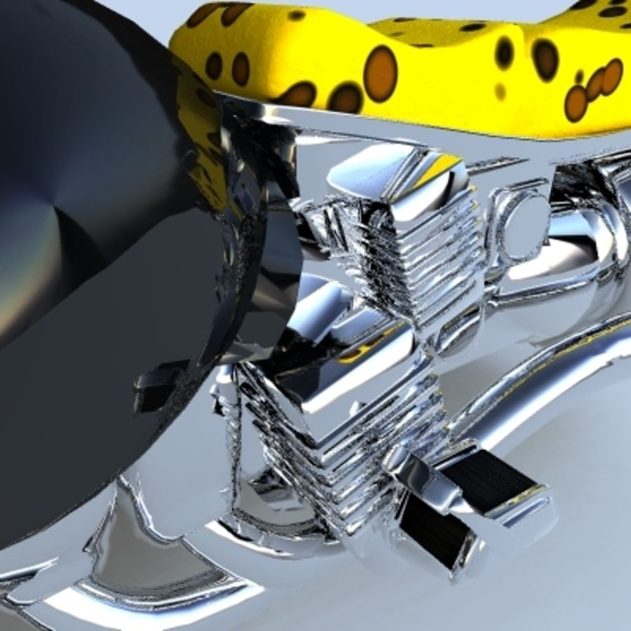 Hover Bikes royalty-free 3d model - Preview no. 11