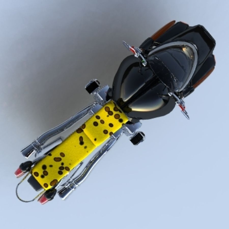 Hover Bikes royalty-free 3d model - Preview no. 9