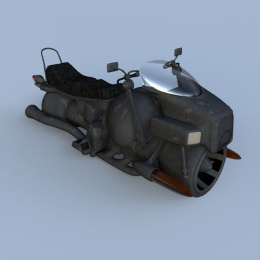 Hover Bikes royalty-free 3d model - Preview no. 14