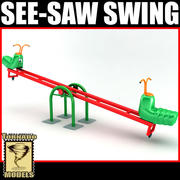 See-Saw Swing 3d model