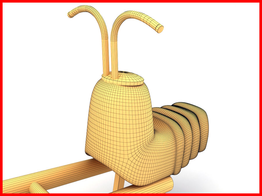 See-Saw Swing royalty-free 3d model - Preview no. 8